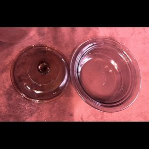 Kitchen - Casserole Dish-LId! PURPLE Vision ware